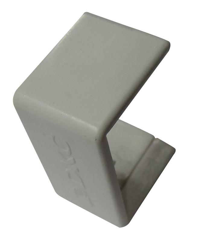 Соединение на стык кабель-канала ДКС 40х17 мм белое