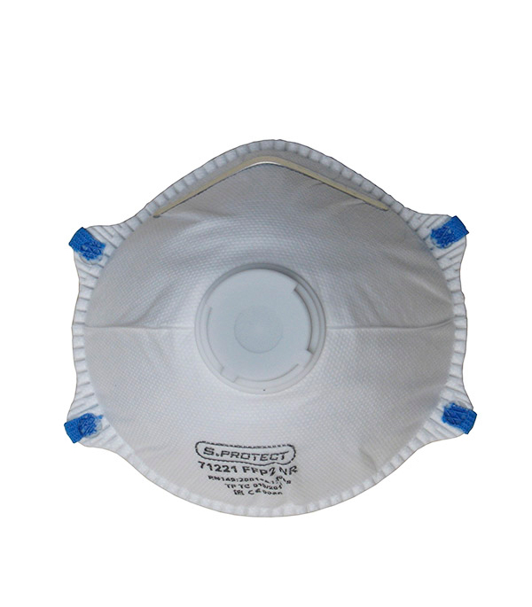 Респиратор формованный с клапаном выхода (FFP2) Стандарт