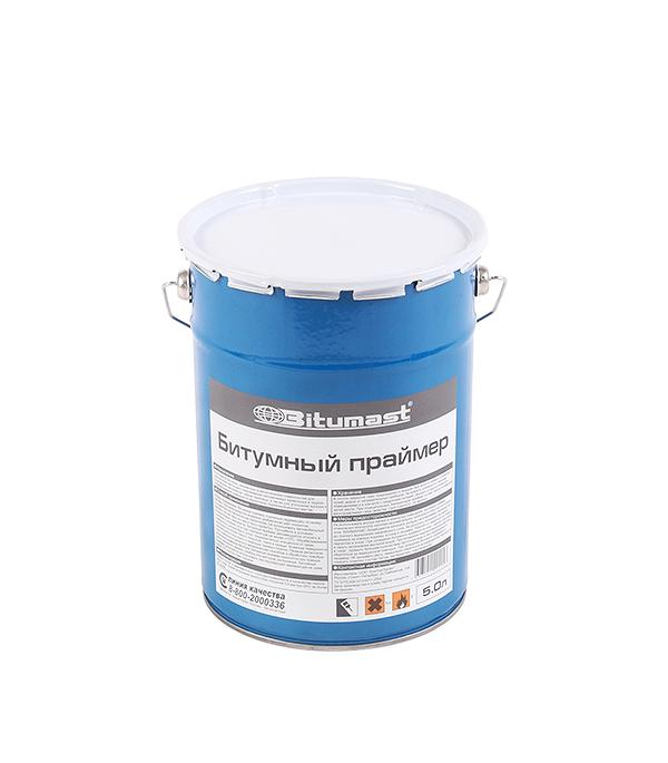 Праймер битумный Bitumast 4.5кг/5л