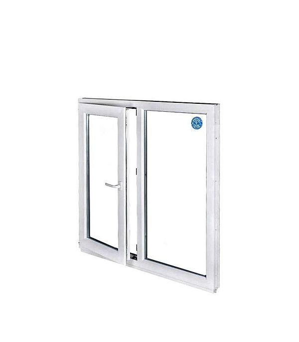 Окно металлопластиковое REHAU 1440х1160 мм белое 1 створка поворотно-откидное левое окно металлопластиковое rehau 1440х1160 мм белое 2 створки поворотно откидное правое поворотное