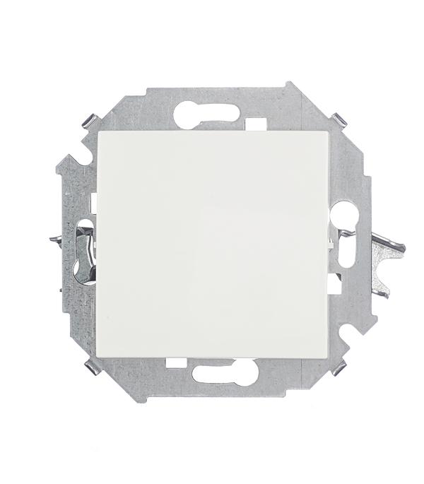 Механизм выключателя (переключатель) одноклавишного проходного,16А,Simon 15, белый