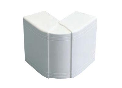 Угол внешний изменяемый для кабель-канала ДКС  80х40 мм белый