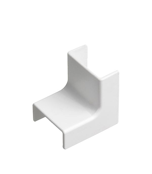 Внутренний угол для кабель-канала ДКС 22х10 мм белый плоский угол 100x60 npan dkc 01745