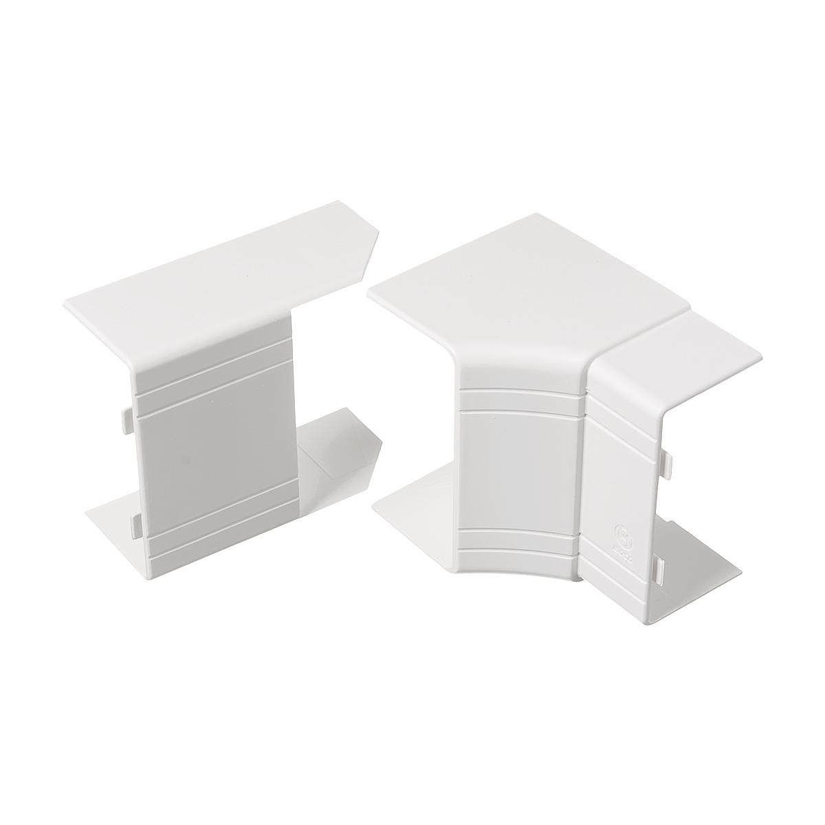Внутренний угол изменяемый для кабель-канала ДКС 80х40 мм белый  угол изменяемый внешний dkc 1шт серый 01052