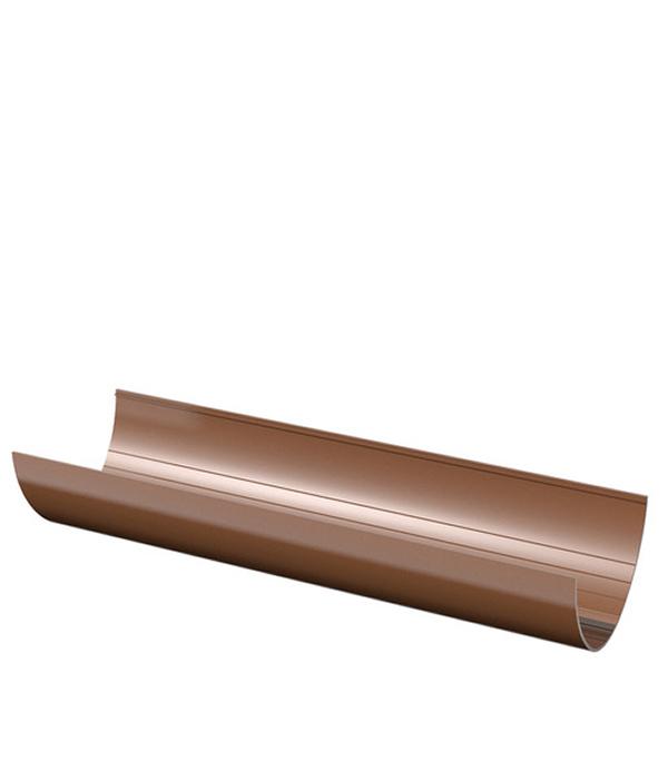 Желоб водосточный пластиковый  1,5м коричневый Технониколь