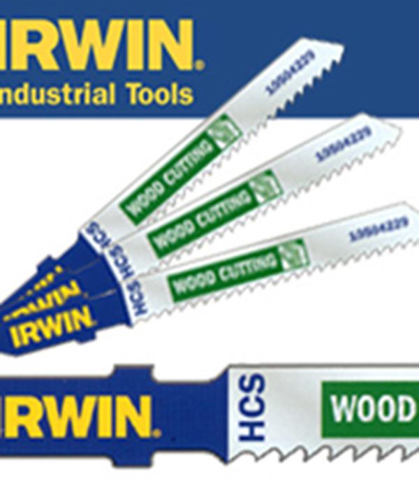 ььПилки для лобзика по металлу 36 зуб. набор 5 шт Irwin Профи