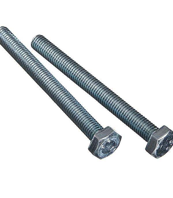 Болты оцинкованные М10х100 мм DIN 933 (2 шт) болты оцинкованные м6х16 мм din 933 100 шт