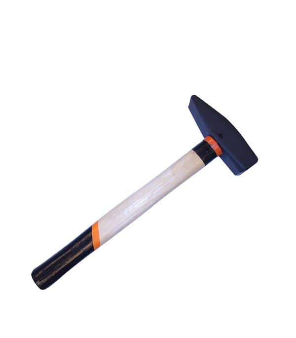 Молоток слесарный 1 кг деревянная ручка Эконом