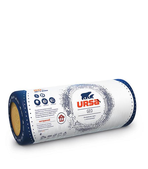 Утеплитель Ursa Geo М-11 7000х1200х50 мм 16.8 кв.м утеплитель лайт 6250х1200х50 мм урса ursa