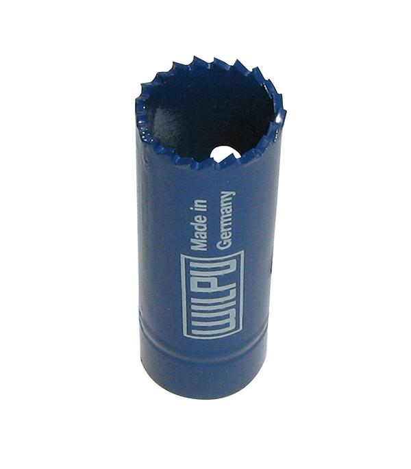 Коронка по металлу Wilpu Профи 20 мм мелкий зуб тиски для сверлильного станка в украине