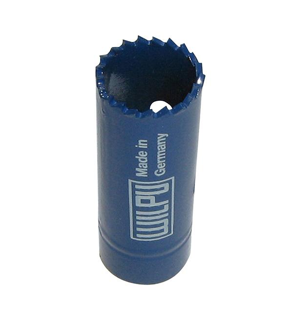 Коронка по металлу Wilpu Профи 22 мм мелкий зуб тиски для сверлильного станка в украине