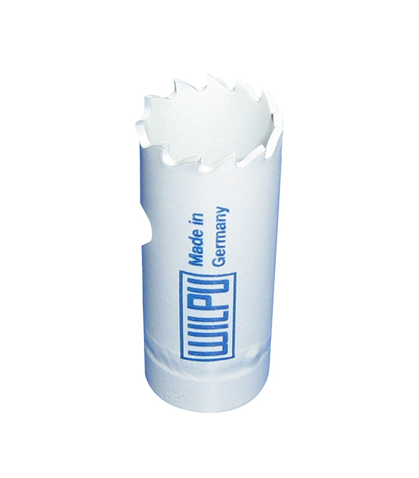 Коронка универсальная Wilpu Профи 19 мм крупный зуб тиски для сверлильного станка в украине