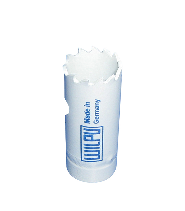 Коронка универсальная Wilpu Профи 20 мм крупный зуб тиски для сверлильного станка в украине