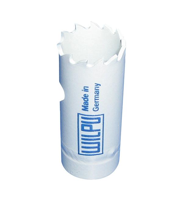 Коронка универсальная Wilpu Профи 22 мм крупный зуб тиски для сверлильного станка в украине