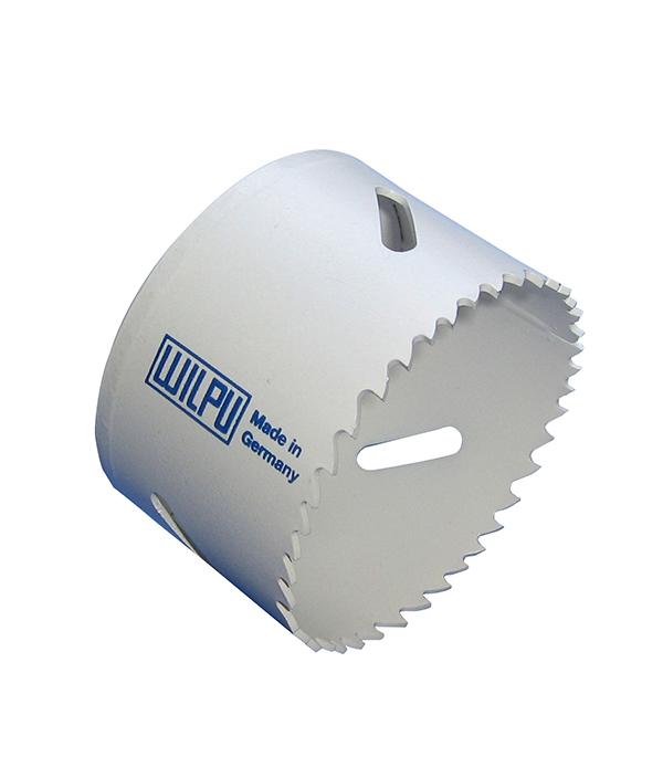 Коронка универсальная Wilpu Профи 35 мм крупный зуб тиски для сверлильного станка в украине
