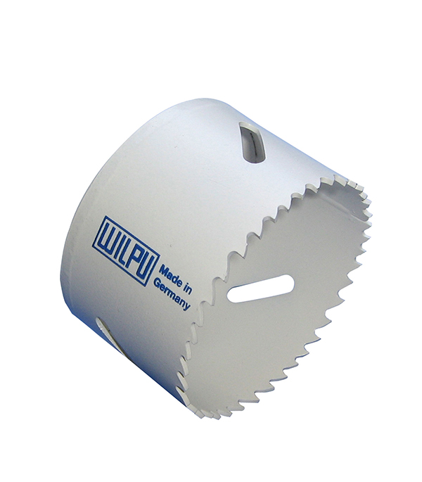 Коронка универсальная Wilpu Профи 38 мм крупный зуб тиски для сверлильного станка в украине