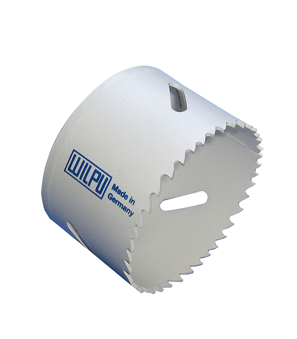 Коронка универсальная Wilpu Профи 40 мм крупный зуб тиски для сверлильного станка в украине