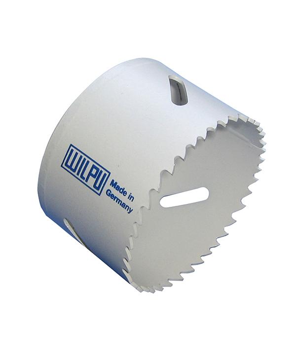 Коронка универсальная Wilpu Профи 43 мм крупный зуб тиски для сверлильного станка в украине