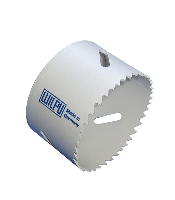 Коронка универсальная Wilpu Профи 48 мм крупный зуб тиски для сверлильного станка в украине