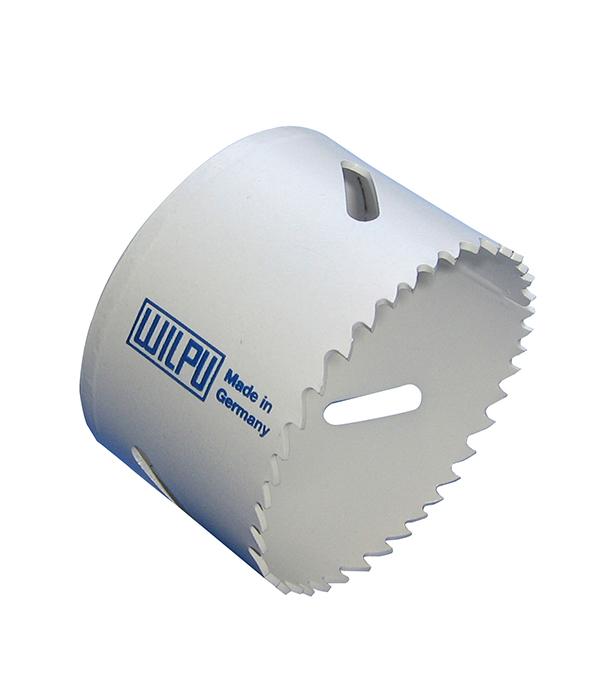 Коронка универсальная Wilpu Профи 54 мм крупный зуб тиски для сверлильного станка в украине