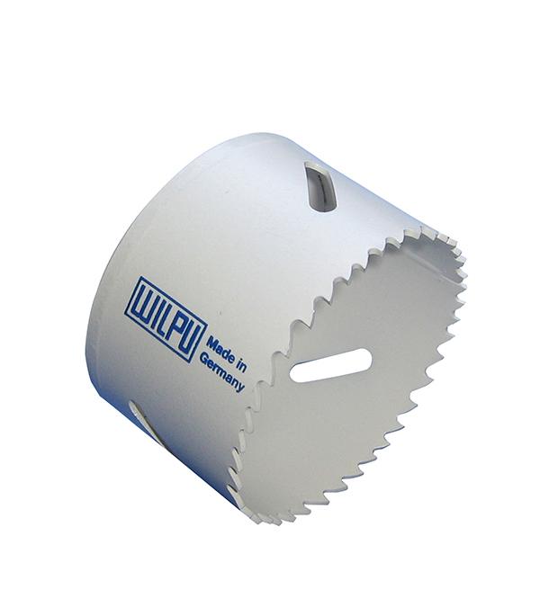 Коронка универсальная Wilpu Профи 57 мм крупный зуб тиски для сверлильного станка в украине