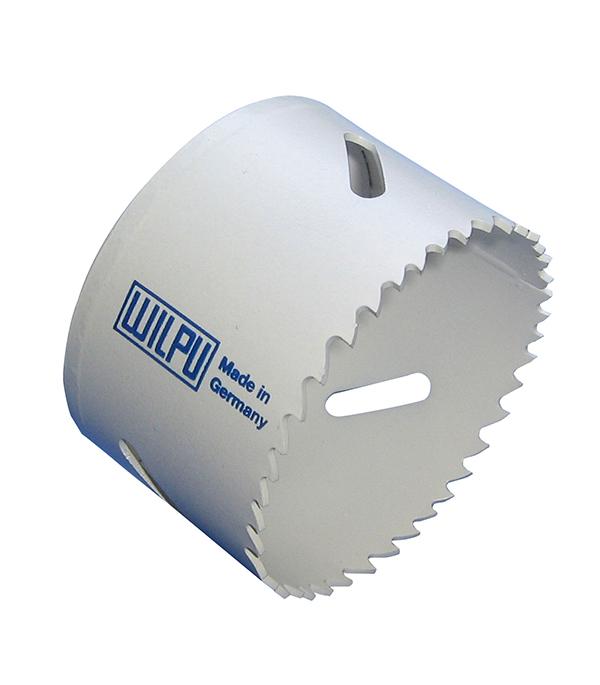 Коронка универсальная Wilpu Профи 65 мм крупный зуб тиски для сверлильного станка в украине