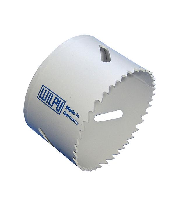 Коронка универсальная Wilpu Профи 67 мм крупный зуб тиски для сверлильного станка в украине