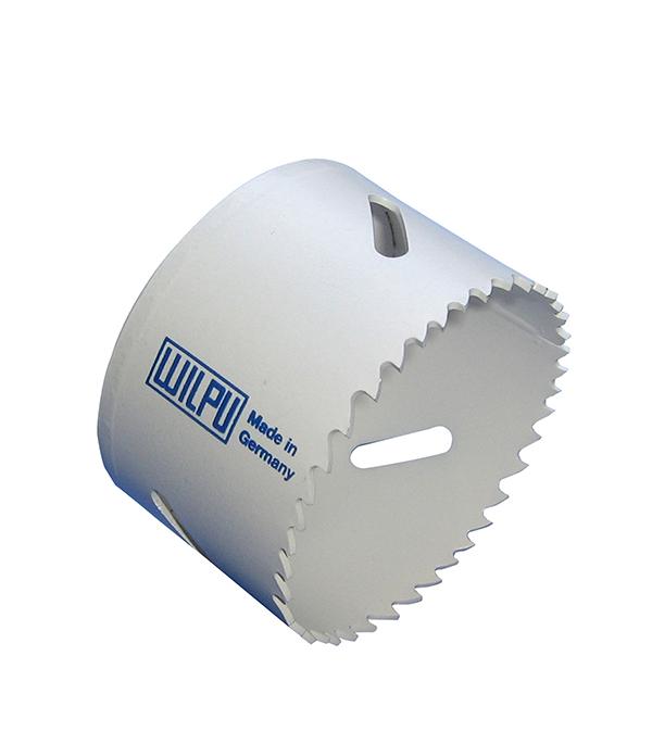 Коронка универсальная Wilpu Профи 79 мм крупный зуб тиски для сверлильного станка в украине