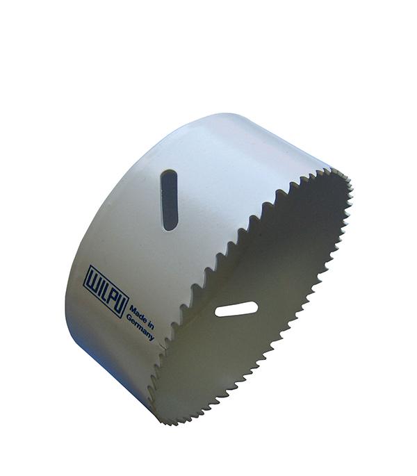 Коронка универсальная Wilpu Профи 83 мм крупный зуб тиски для сверлильного станка в украине