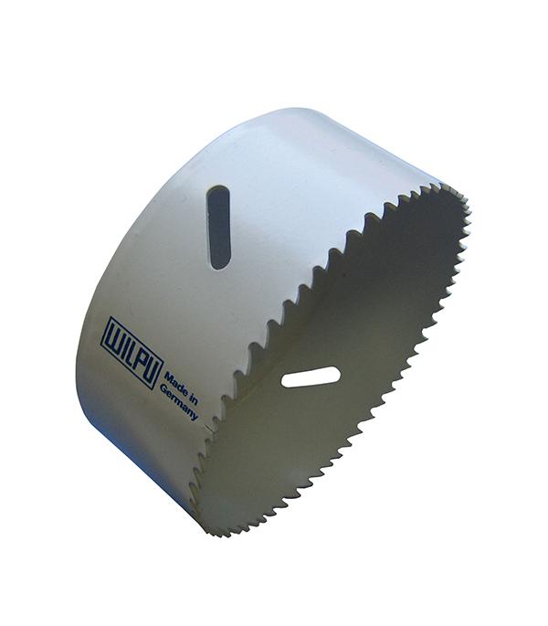 Коронка универсальная 127 мм, крупный зуб, Wilpu Профи