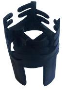 Фиксатор для арматуры горизонтальный ФУ 5-20мм/слой 20, 25мм (500шт)