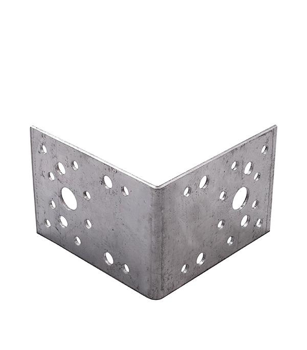 Уголок крепежный оцинкованный 105х105х90х2.5 крепежный уголок 90х90 ширина 65мм