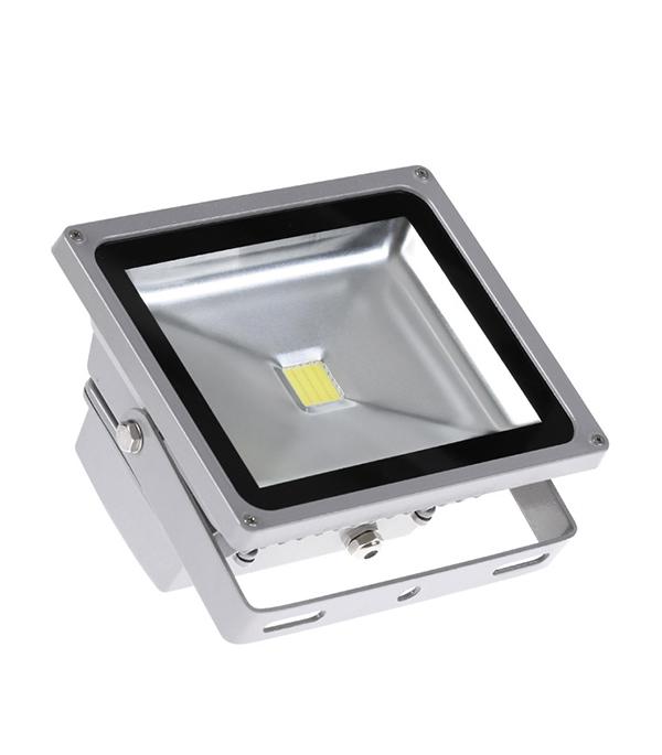 Прожектор cветодиодный  20 Вт, 6500K (холодный свет), серый