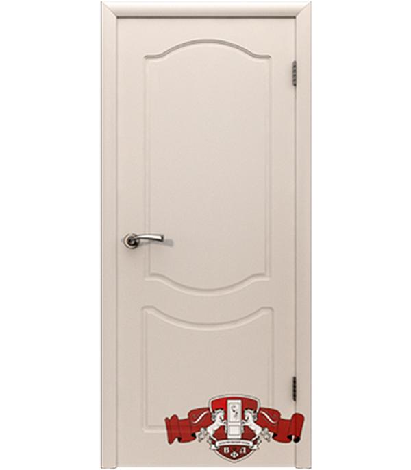 Дверное полотно  Классика белое глухое 600x2000 мм без притвора