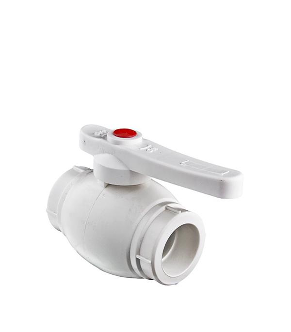 Кран полипропиленовый шаровый Valtec 25 мм счетчики на воду valtec в невинномысске