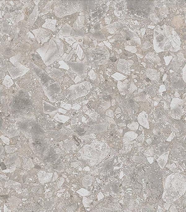 Керамогранит 450х450х8 мм Глоуб Смоук серый / Италон (6шт=1,012 м2)