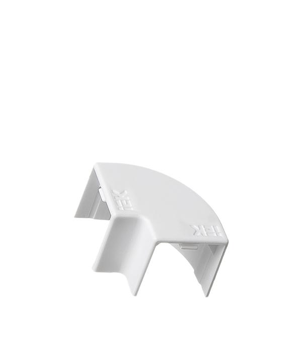 Угол плоский для кабель-канала 16x16 мм белый (4 шт.)