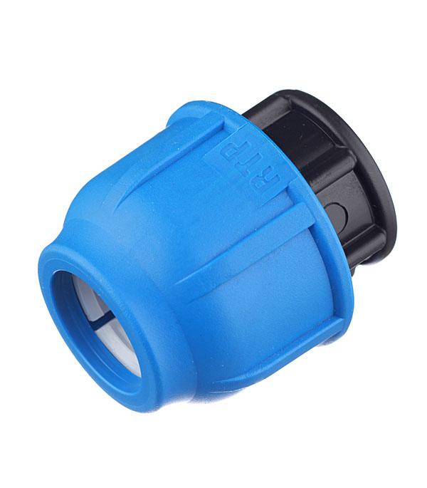 Заглушка ПНД компрессионная 20 мм , РТП муфта пнд компрессионная 25х25 мм ртп