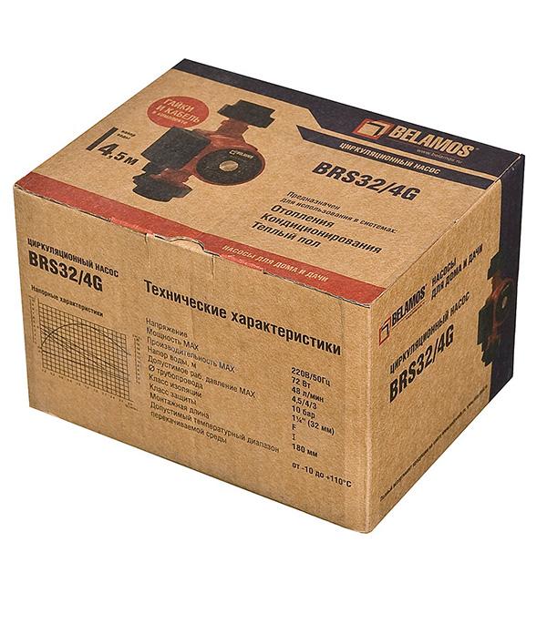 Насос циркуляционный для систем отопления Belamos BRS32/4G