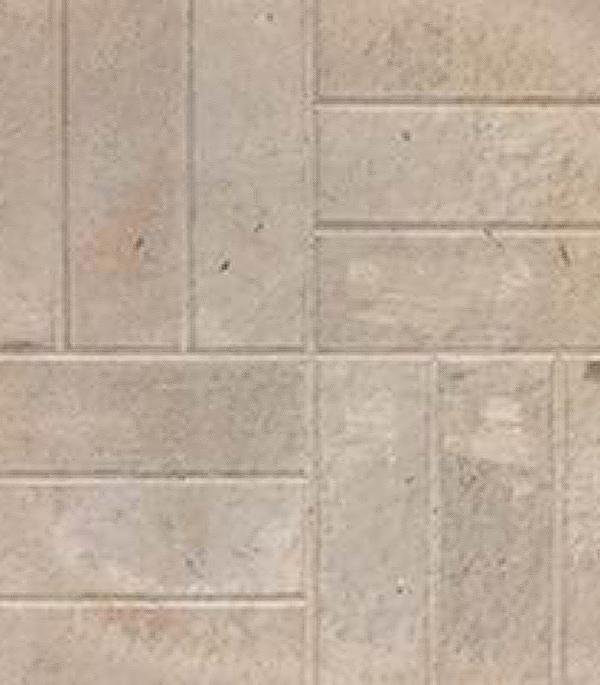 Плитка тротуарная 12 камней 500х500х45 мм серая