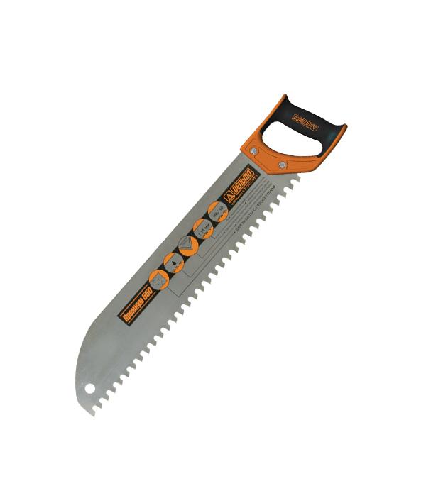 Ножовка по газобетону Дельта 550 мм (средний зуб) кольца кюз дельта 114454 d
