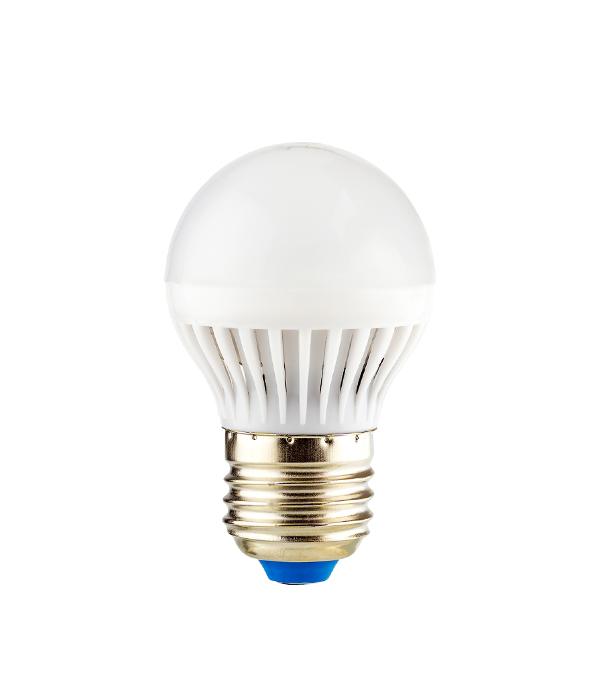 Лампа светодиодная E27 5W G45 4000K, холодный свет, REV