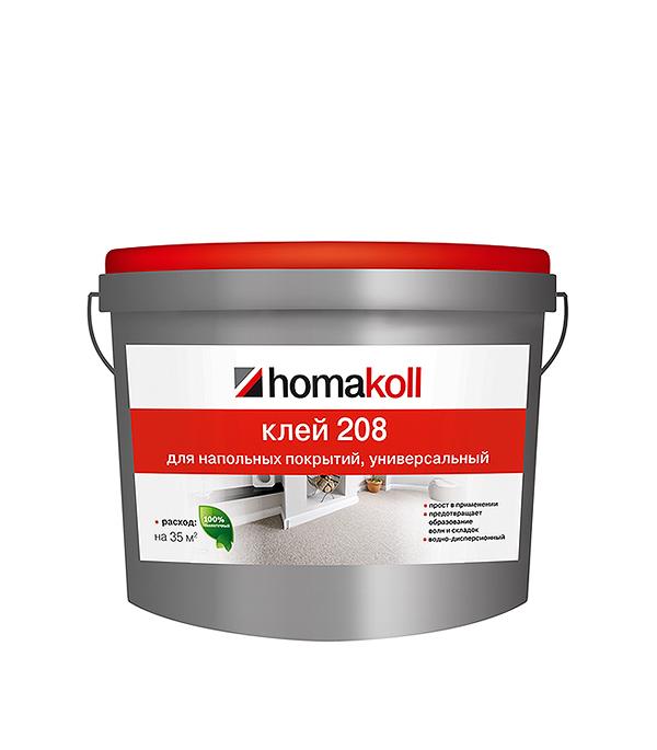 Клей для напольных покрытий Homakoll 208 14 кг