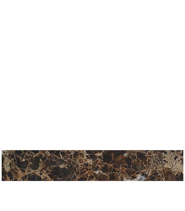 """ъъПлитка бордюр 400х68 мм Капри коричневый от Строительный Торговый Дом """"Петрович"""""""