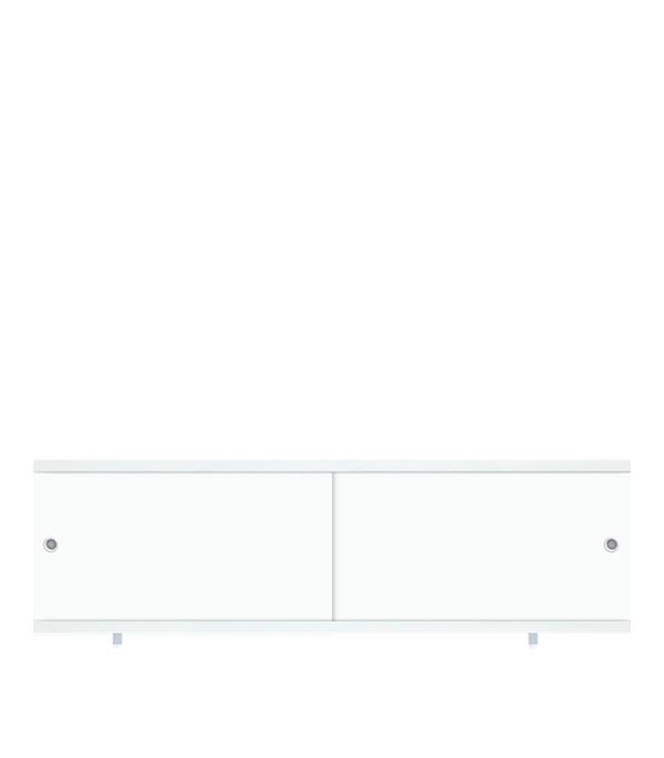 Экран ПВХ Кварт белый 1700 мм экран п ванну премиум а 70 см белый