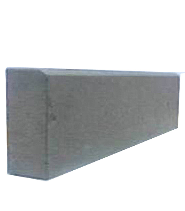 Бордюр тротуарный вибролитьевой 500х210х70 мм серый