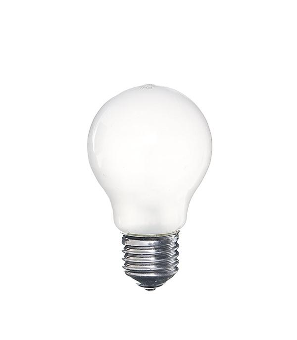 Лампа накаливания E27, 75W, A55 (груша), FR (матовая) Philips