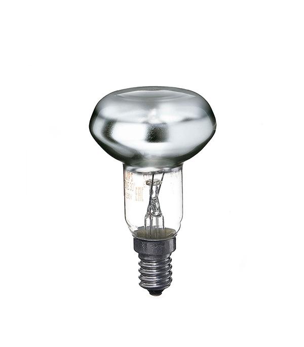 Лампа накаливания E14, 40W, R50 (рефлектор), зеркальная, Philips, Spotline