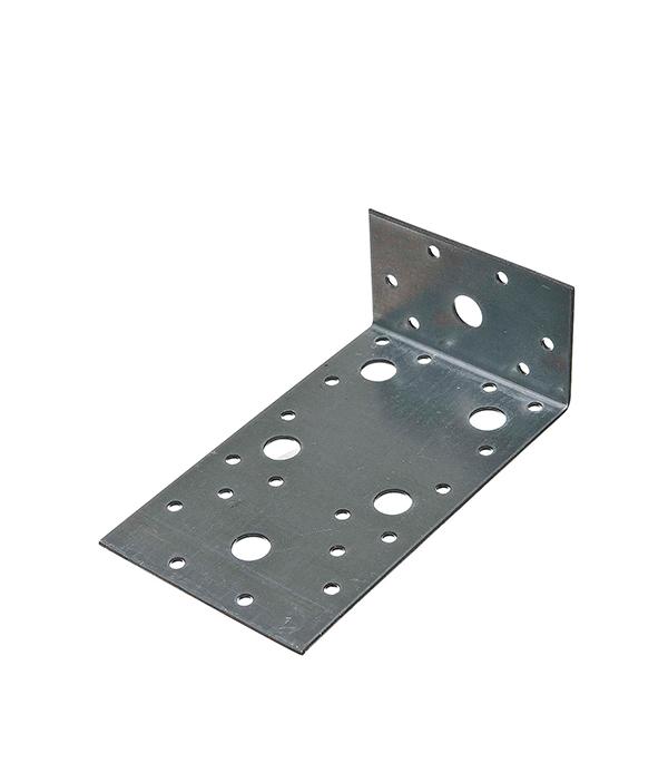 Уголок крепежный оцинкованный 60х150х90х2 мм