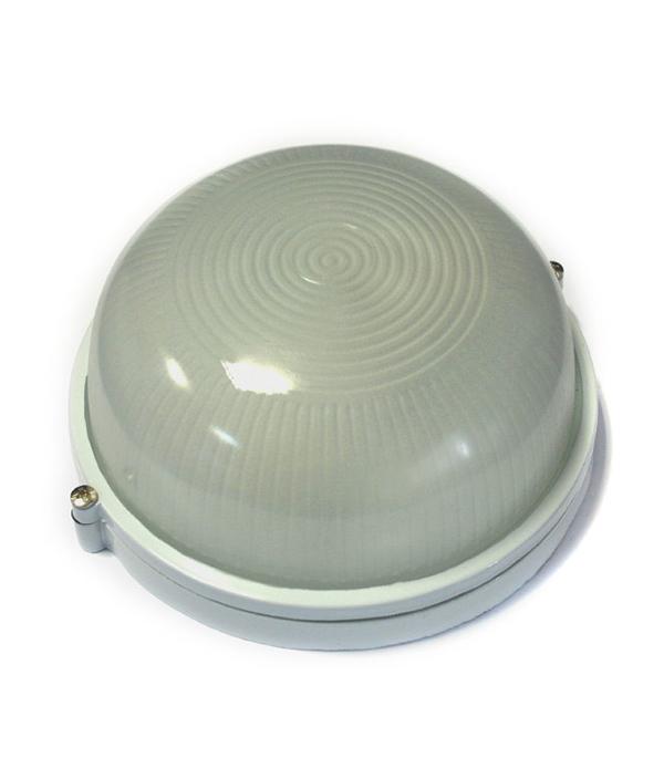 Светильник НПБ 60 Вт круглый влагозащищенный (IP 54),белый